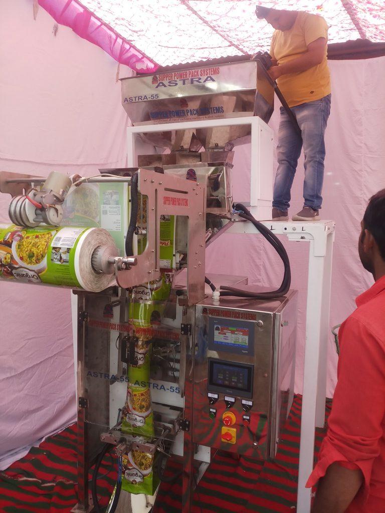 vegetable packaging equipment