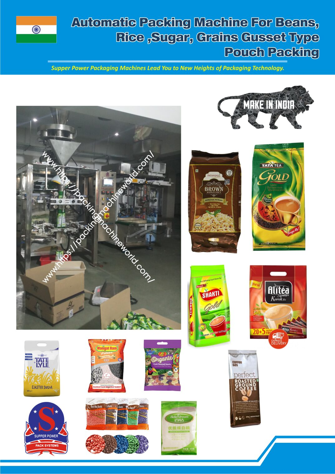 Beans Automatic Packing Machine