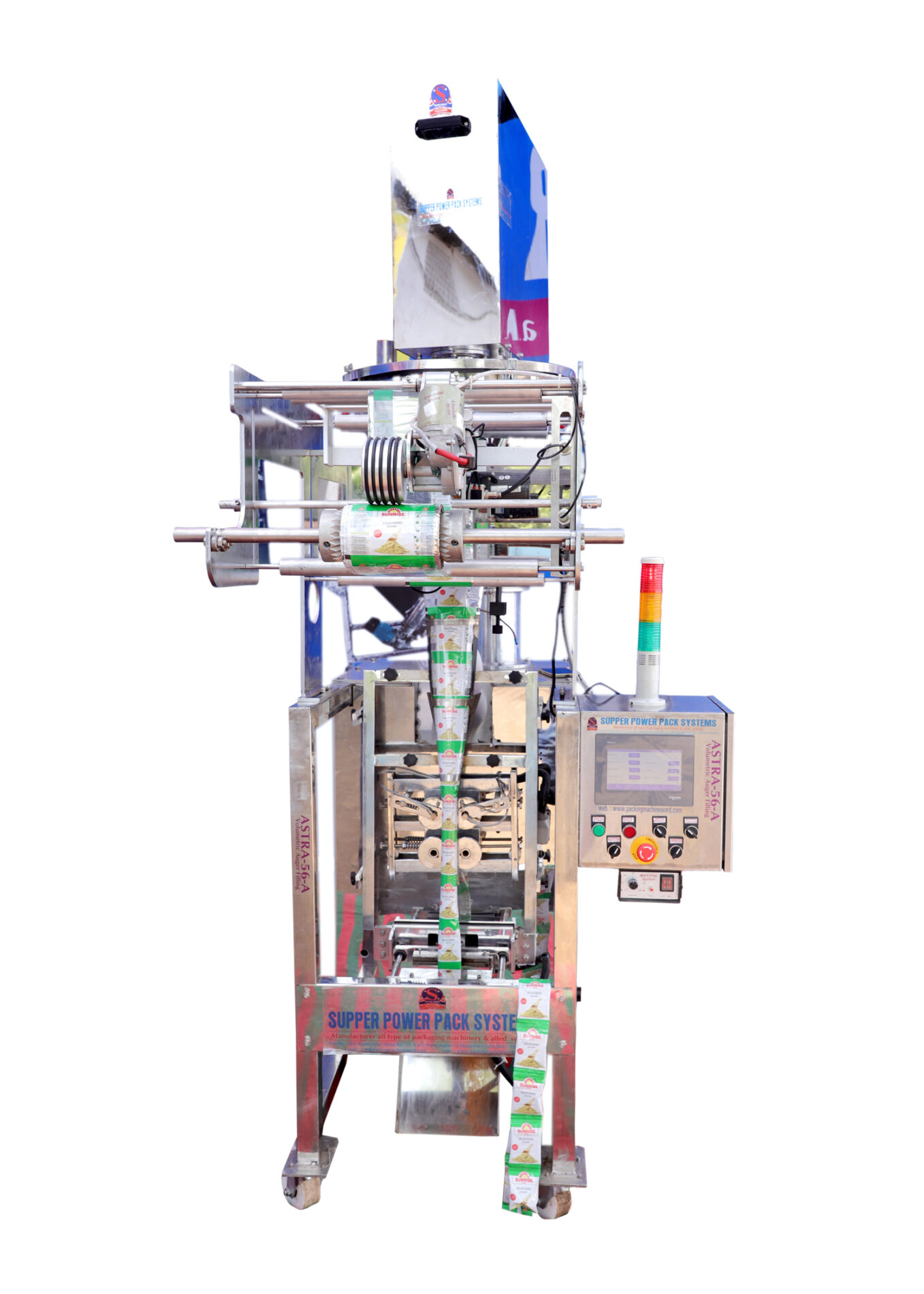 automatic bagging and sealing machine
